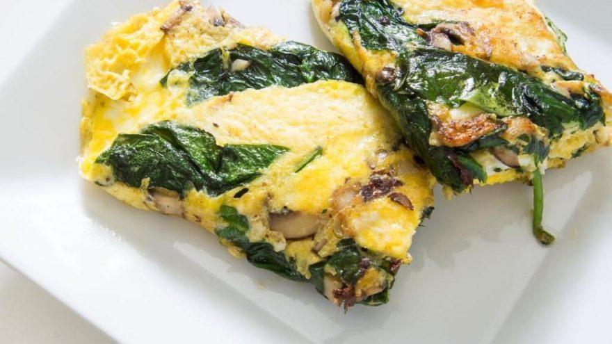 Sahur için sağlıklı ve pratik bir tarif! Ispanaklı omlet tarifi: Ispanaklı omlet nasıl yapılır?