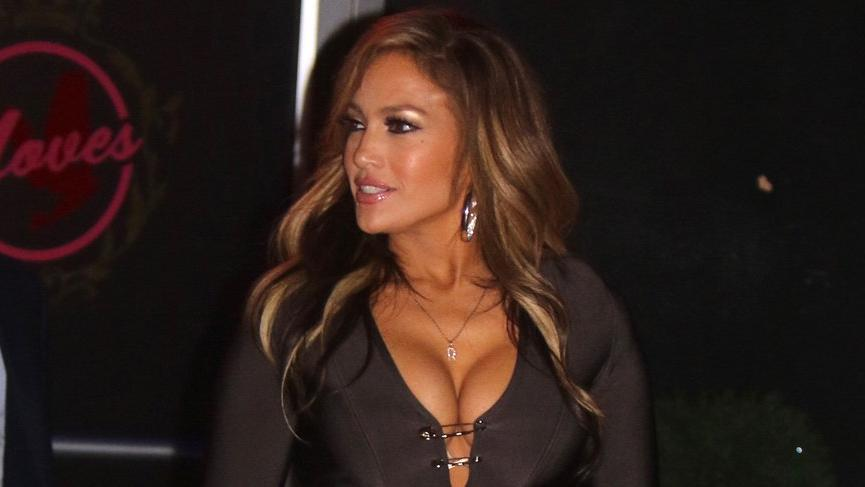 Jennifer Lopez'in Hustlers film setinden görüntüleri yayınlandı