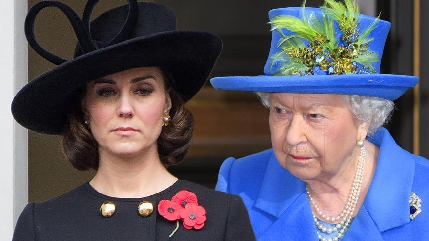 Kraliçe II. Elizabeth, Kate Middleton'ın kıyafetlerinden rahatsız oluyor