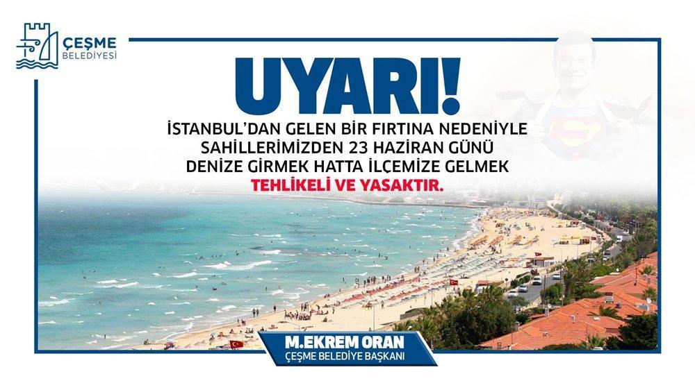 CHP'li sahil belediyelerinden İstanbullulara afişli 23 Haziran uyarısı