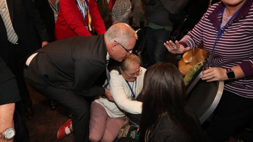 Avustralya başbakanına yumurtalı saldırı