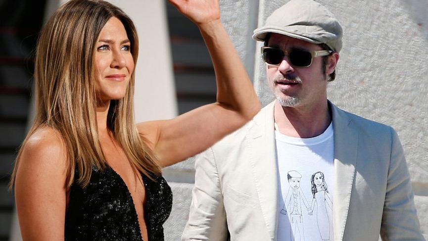 Brad Pitt, Jennifer Aniston ile sevgili olup olmadığı konusunda açıklama yaptı