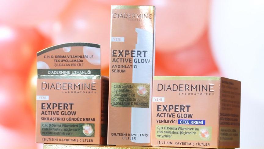 Diadermine, yeni serisi Expert Active Glow'u Tanıttı