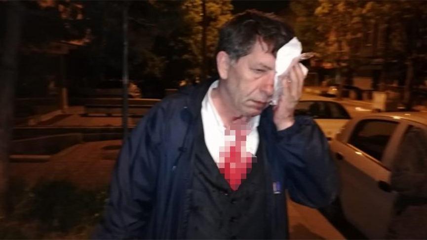 Son dakika... Gazeteci Yavuz Selim Demirağ'a evinin önünde saldırı!