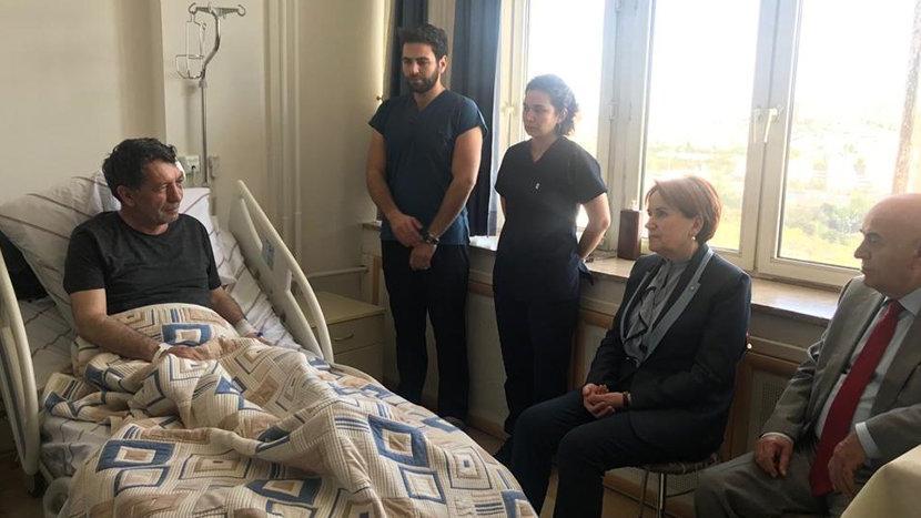 Meral Akşener'den Yeniçağ yazarı Yavuz Demirağ'a ziyaret!