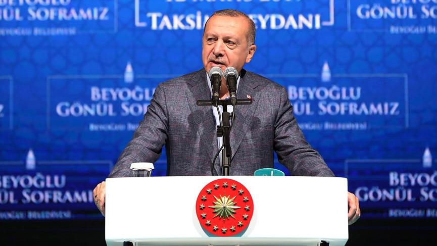Erdoğan: Seçim yenileniyorsa orada demokrasi işliyor demektir