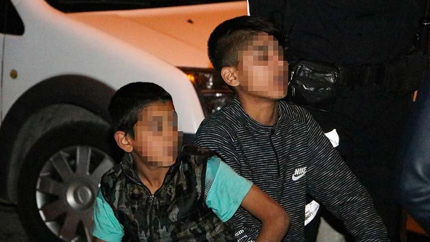 8 ve 13 yaşındaki iki kardeş otomobili çaldı