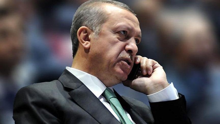 Son dakika... Erdoğan'dan kritik telefon görüşmesi!
