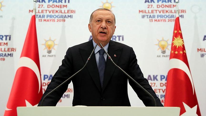 Erdoğan da 'oyları çaldılar' dedi!