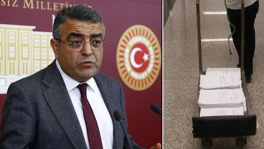 İstanbul'da vakıflara aktarılan paralar bir araba önerge oldu