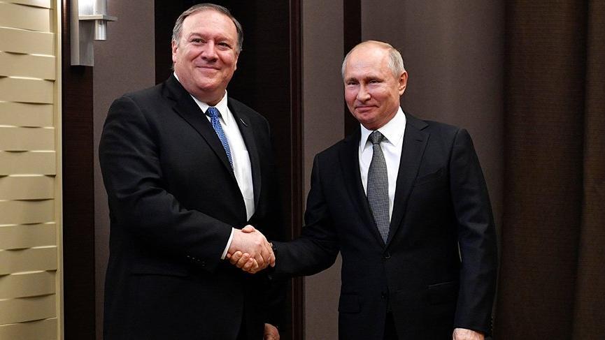 ABD Dışişleri Bakanı Pompeo, Putin ile görüştü