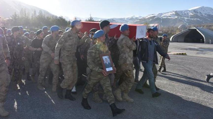 Şehit Uzman Çavuş Zekeriya Zencirli için tören düzenlendi