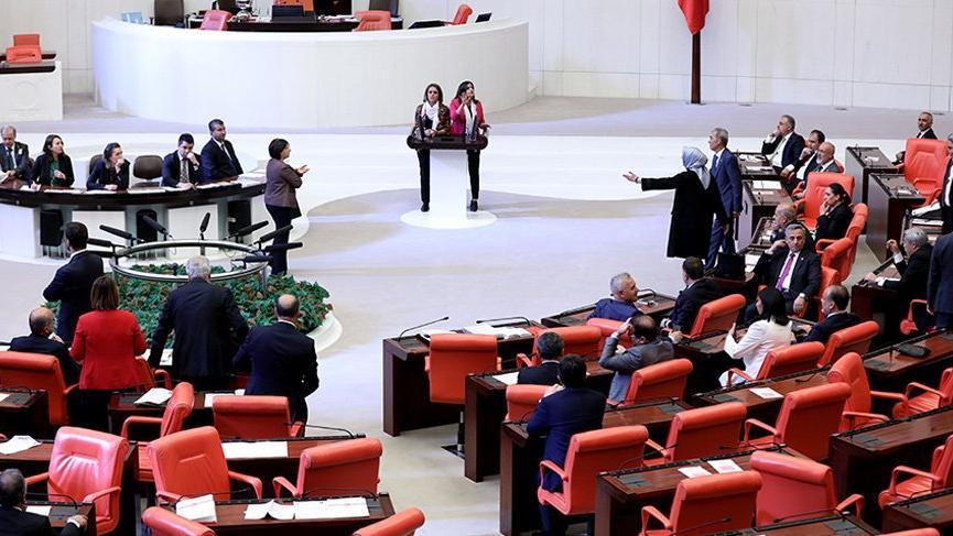 Meclis'te önerge kabul edilmeyince tartışma çıktı