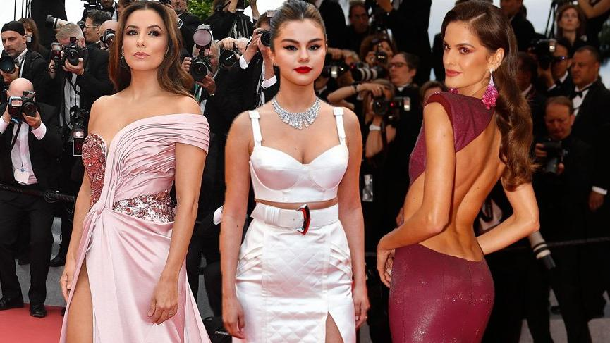 72. Cannes Film Festivali'nde kırmızı halı rüküşlüğü