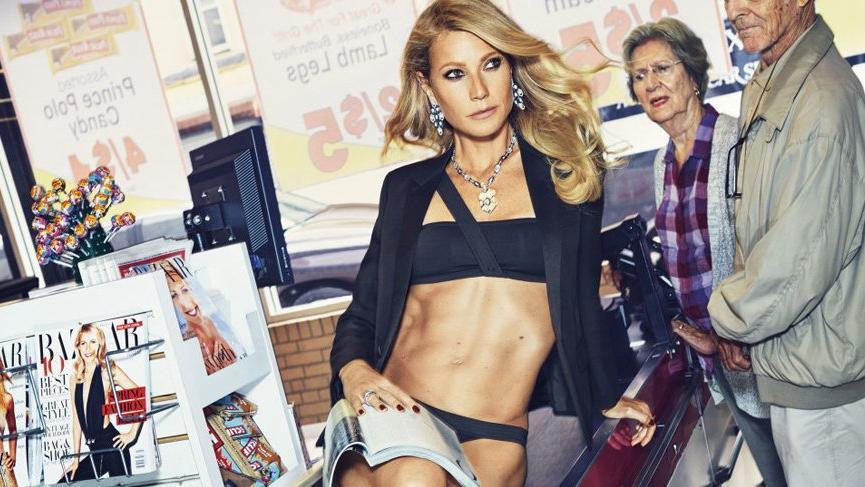 Gwyneth Paltrow'dan 4 bin 500 TL'lik iç çamaşırı!