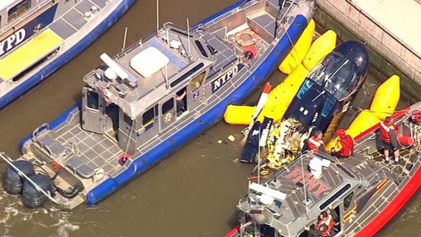 ABD'yi korkutan helikopter kazası!
