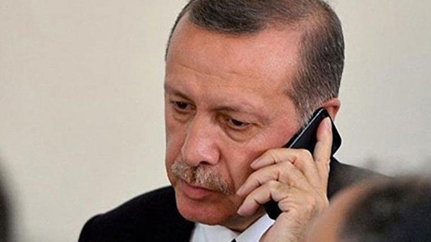 Erdoğan'dan telefon trafiği!