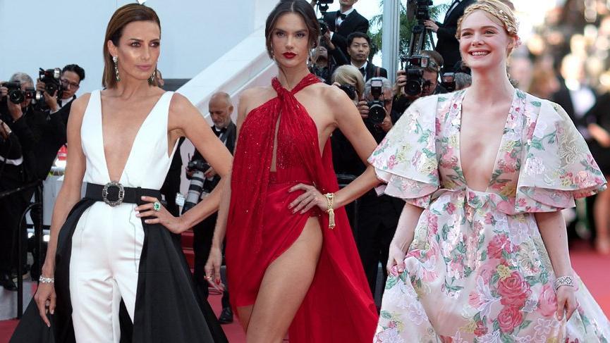 72. Cannes Film Festivali'nde 2'nci gün kırmızı halı görünümleri