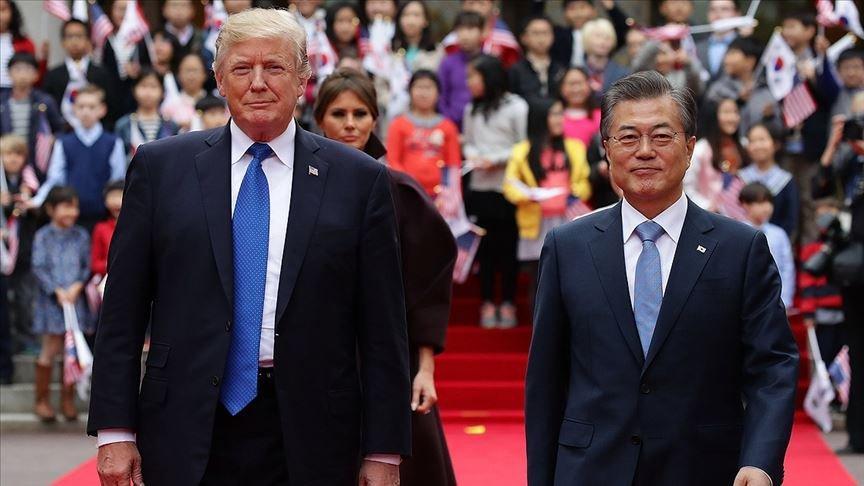 Trump Haziran ayında Güney Kore yolcusu