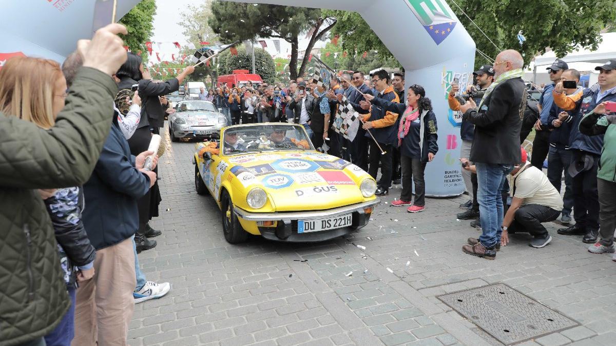Europa Orient Rallye 14. Kez İstanbul'dan start aldı