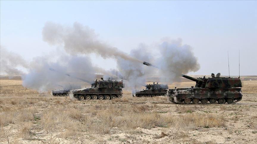 PKK/YPG'li teröristlere anında karşılık verildi
