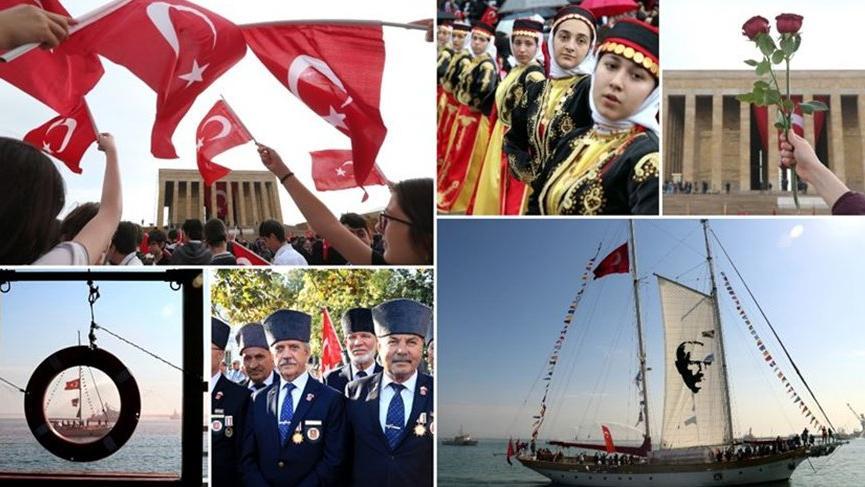 Yurtta 19 Mayıs Atatürk'ü Anma, Gençlik ve Spor Bayramı coşkusu!