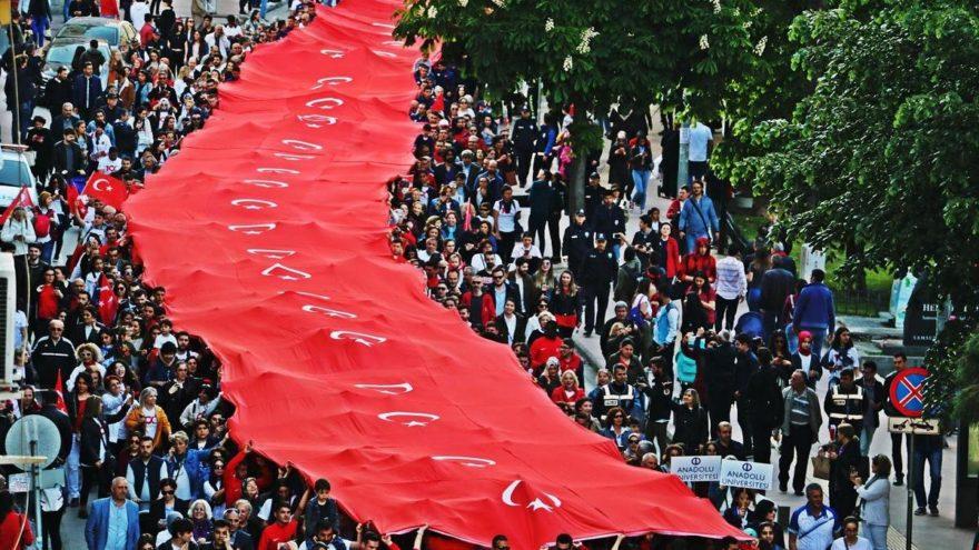 Samsun'da 19 Mayıs'ın 100'üncü yıl coşkusu