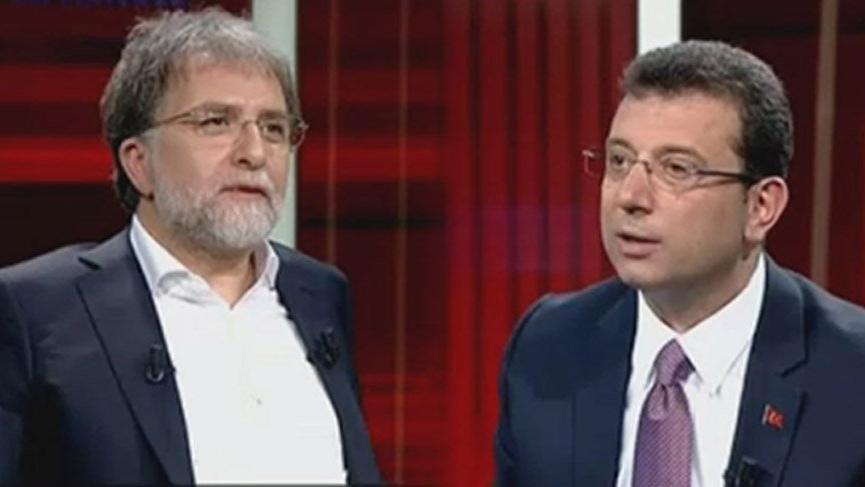 İmamoğlu'ndan Ahmet Hakan'a: Belediye Başkanını savunacaksan çağır onu onunla konuşayım