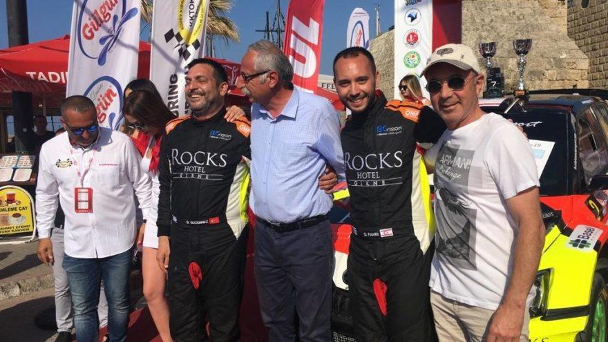 Kuzey Kıbrıs Rallisi'nin kazananı belli oldu