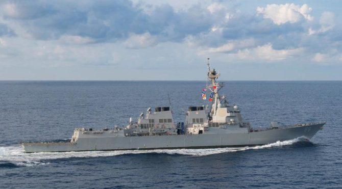 Son dakika… ABD'den korkutan hamle: Savaş gemisi ilerliyor