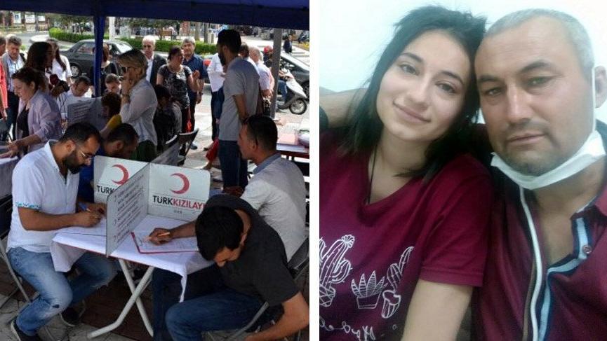 CHP'lilerden baba-kız için kök hücre bağışı kampanyası
