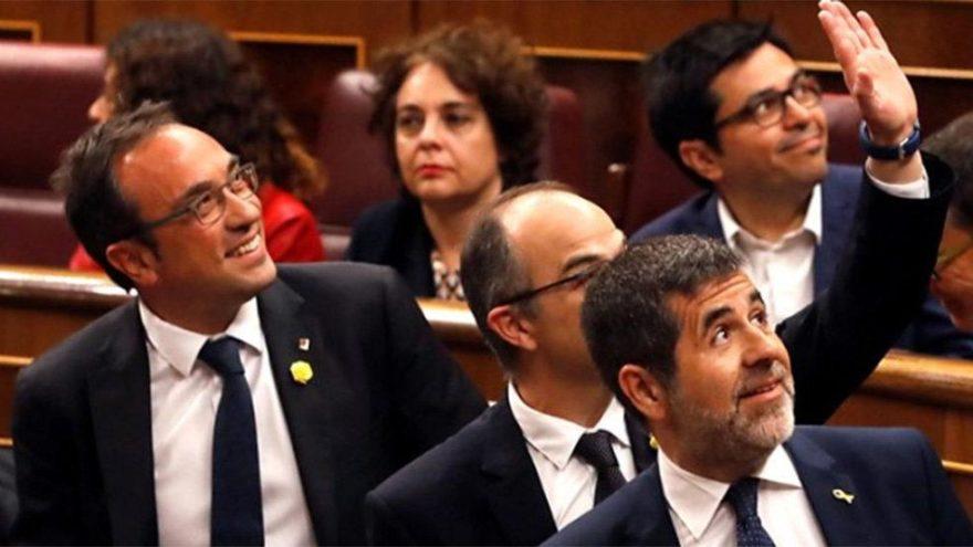 İspanya'da tarihi gün… Tutuklu vekiller ilk kez parlamentoda!