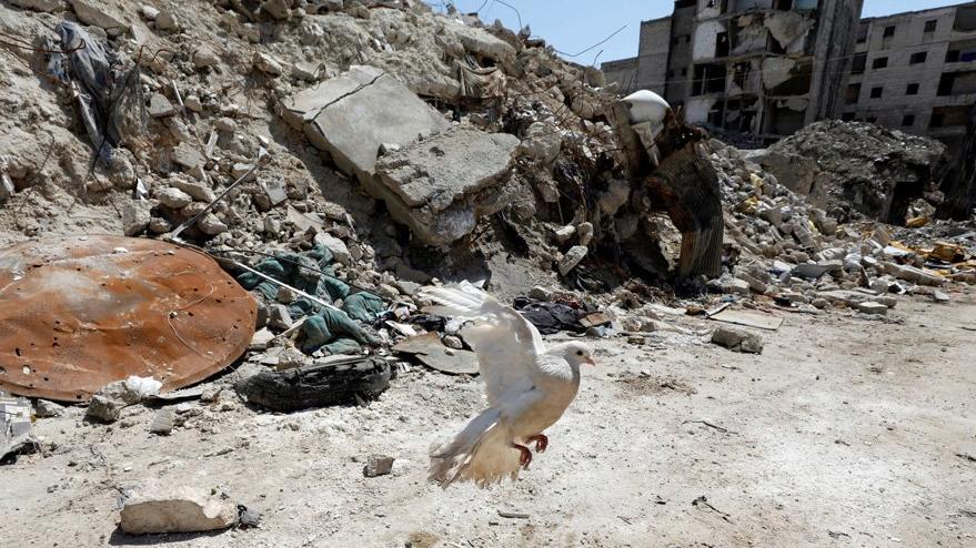 Suriye: Halep'e iki top mermisi düştü
