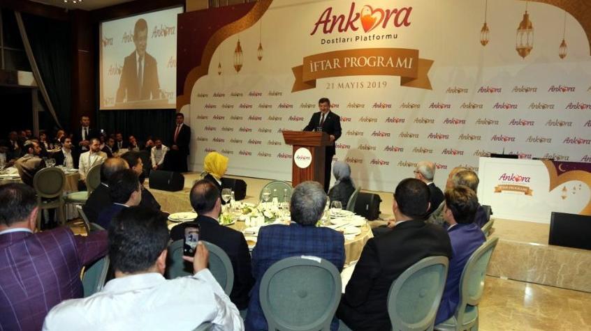 Ahmet Davutoğlu: Korkmadan konuşun