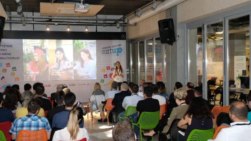 Mercedes-Benz Türk StartUP 2019'da 60 girişimci ile eğitim kampında buluştu