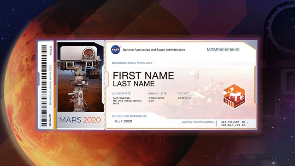 MARS'a Bilet Al!