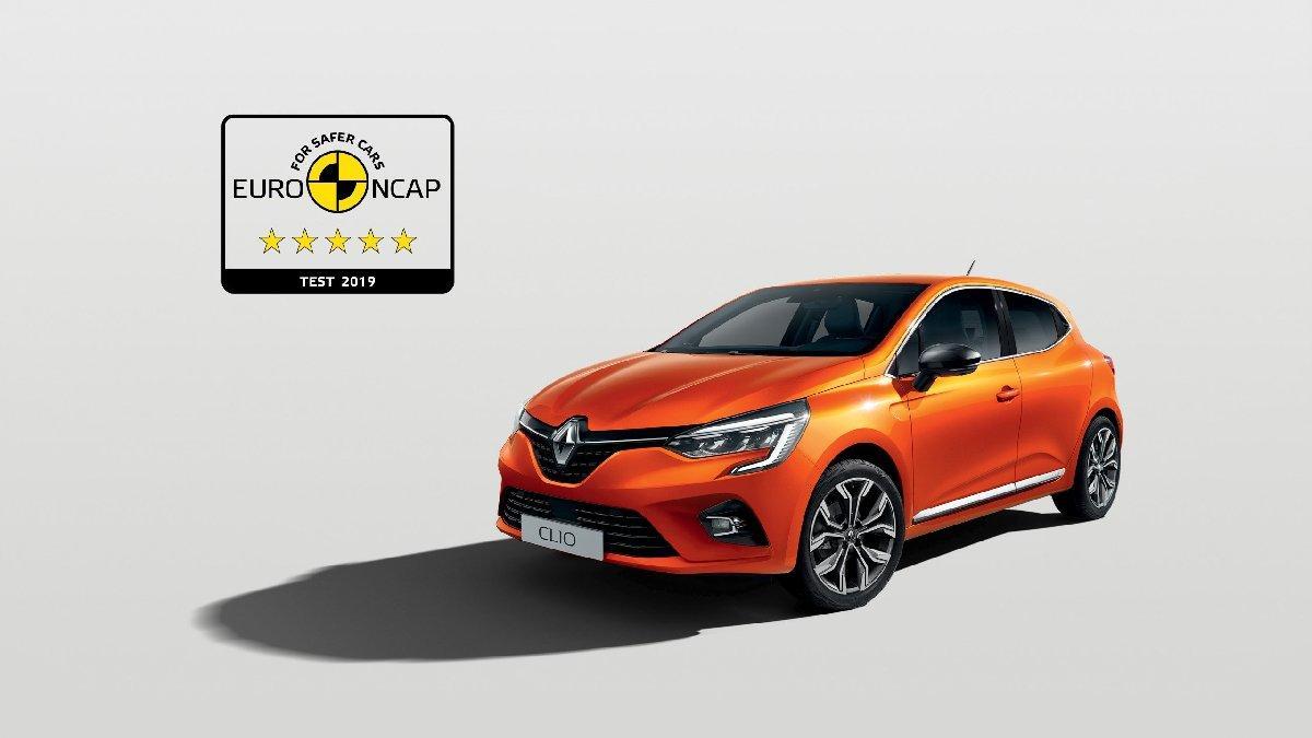 Yeni Renault Clio'ya 5 yıldız!