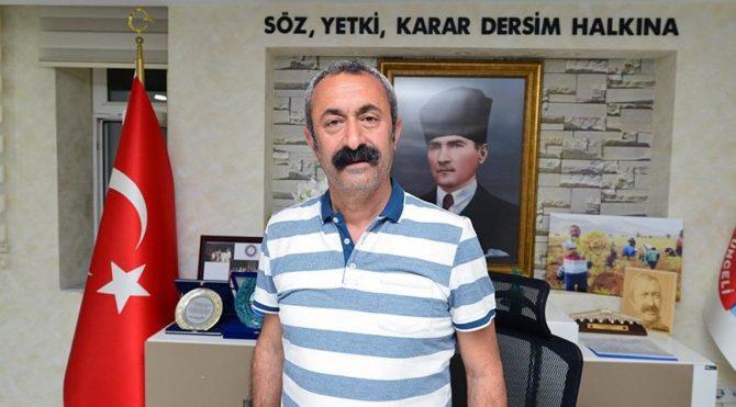 Tunceli Belediye Başkanı Maçoğlu'ndan 'Dersim' açıklaması