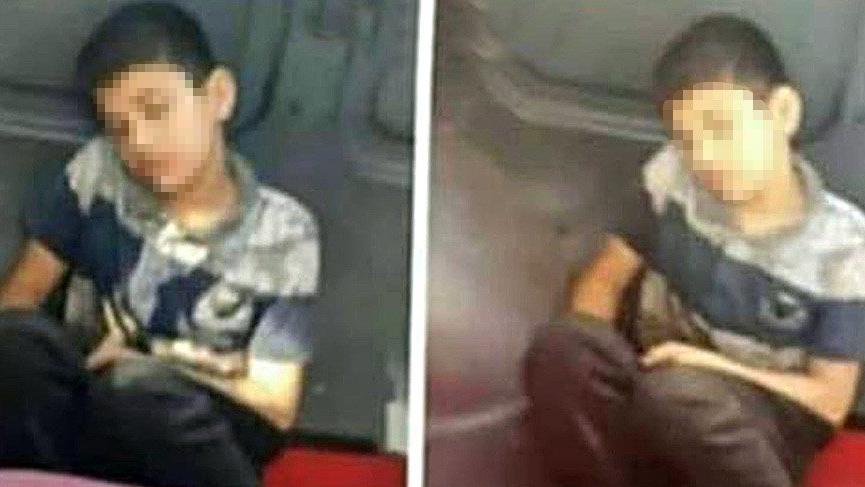 Çocuğu koltuktan kaldırıp yere oturttuğu iddia edilen şoför, seferden men edildi
