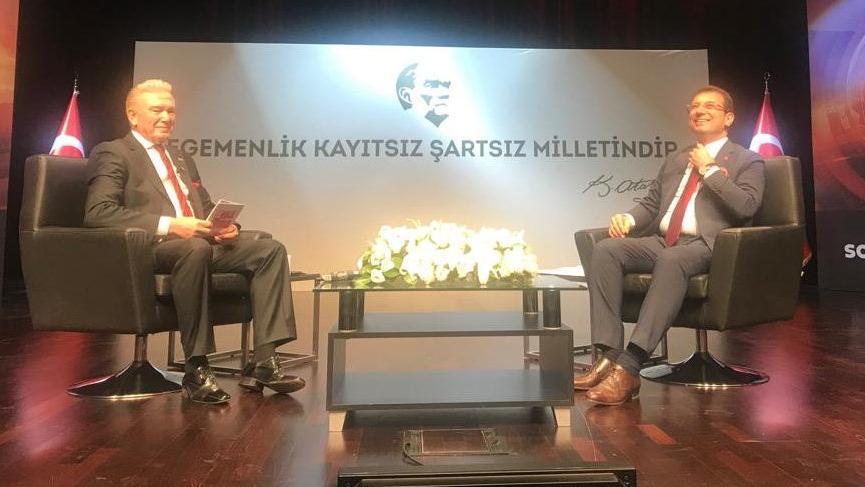 Son dakika... İmamoğlu: İstanbul'un uzun zamandır belediye başkanı yoktu o da geldi
