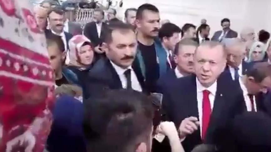 Erdoğan'a EYT sorusu: İş bulamıyoruz efendim iş yok