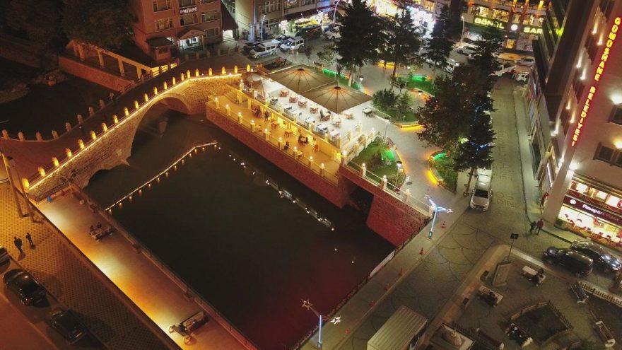 500 yıllık köprü restore edildi