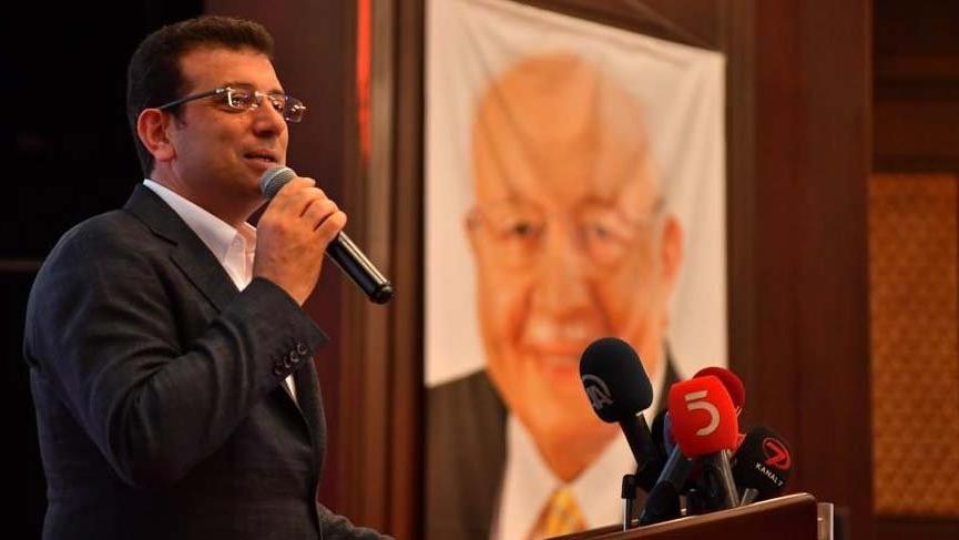 Ekrem İmamoğlu'nun katıldığı SP iftarına Yıldırım telgraf gönderdi