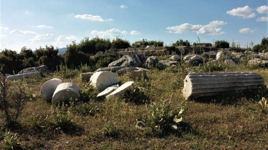 Blaundus Antik Kenti keşfedilmeyi bekliyor