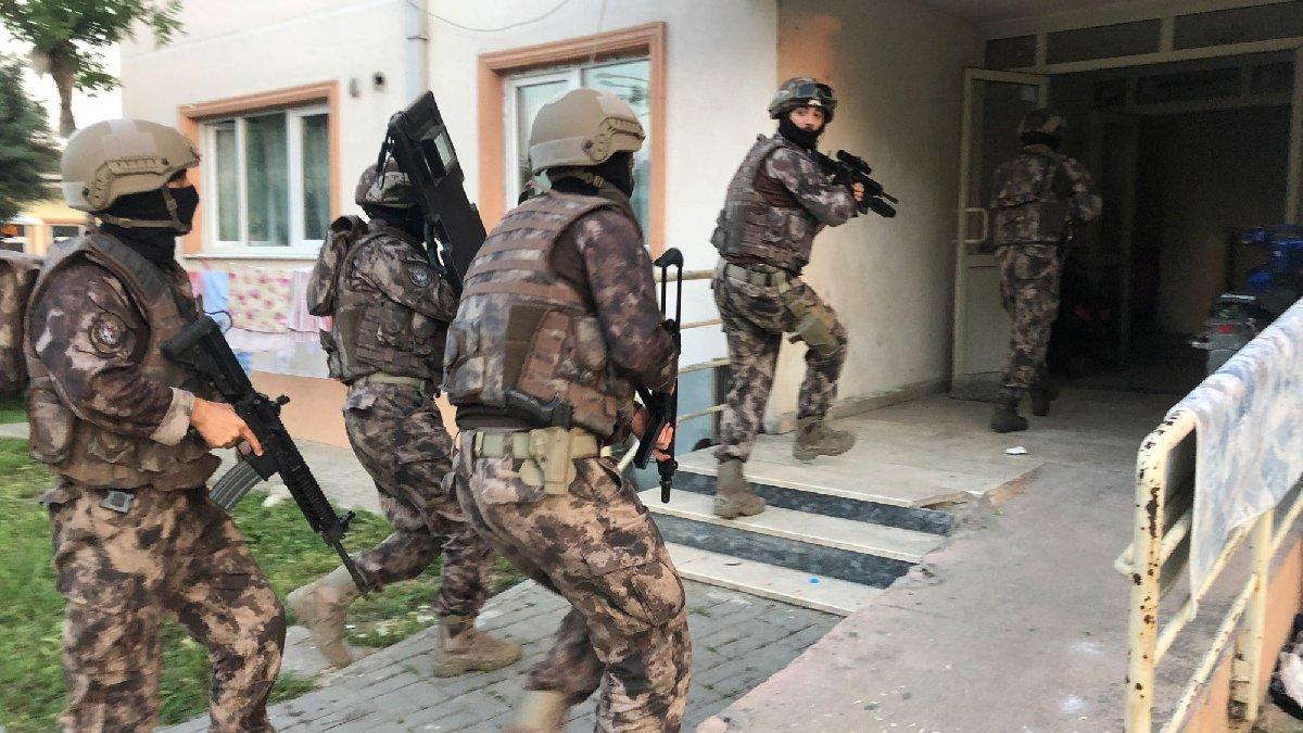 Bursa'da bin polisle dev uyuşturucu operasyonu
