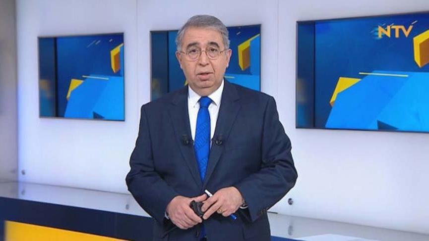 NTV sunucusu Haksever'den canlı yayın kazası