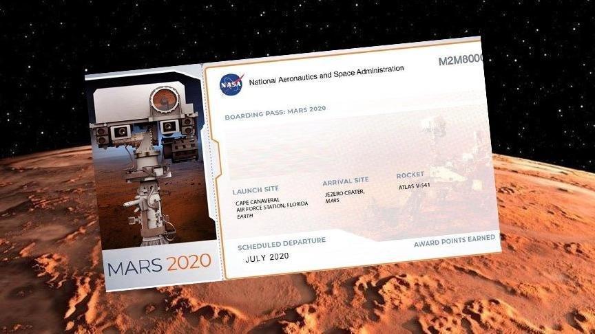 2020 Mars bileti alma işlemi: NASA Mars'a gidecek araca isim nasıl yazdırılır?