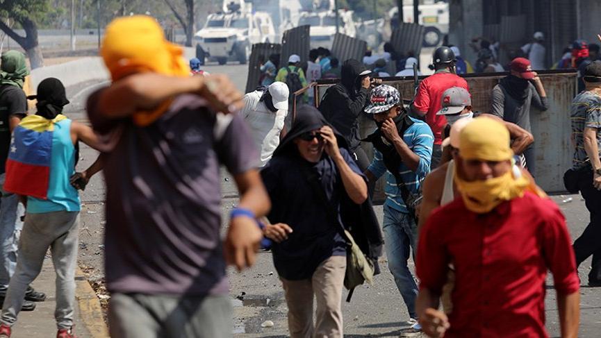Rusya'dan Venezuela çağrısı: Şiddetten vazgeçin