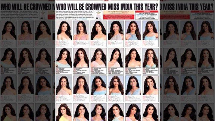 Güzellik Yarışması finalistlerinin fotoğrafı tartışma yarattı