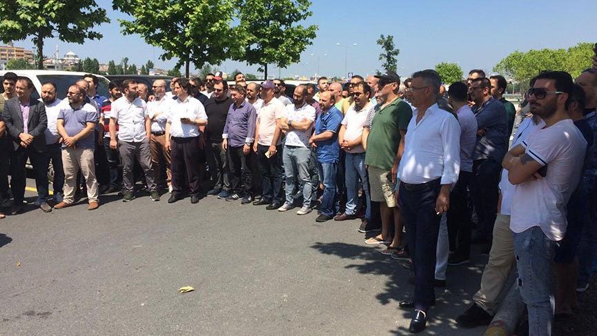 UBER'in durdurulması kararına sürücülerden protesto